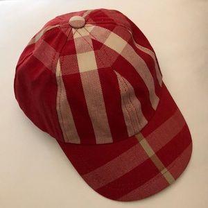 Authentic Burberry London Woven Check Cap